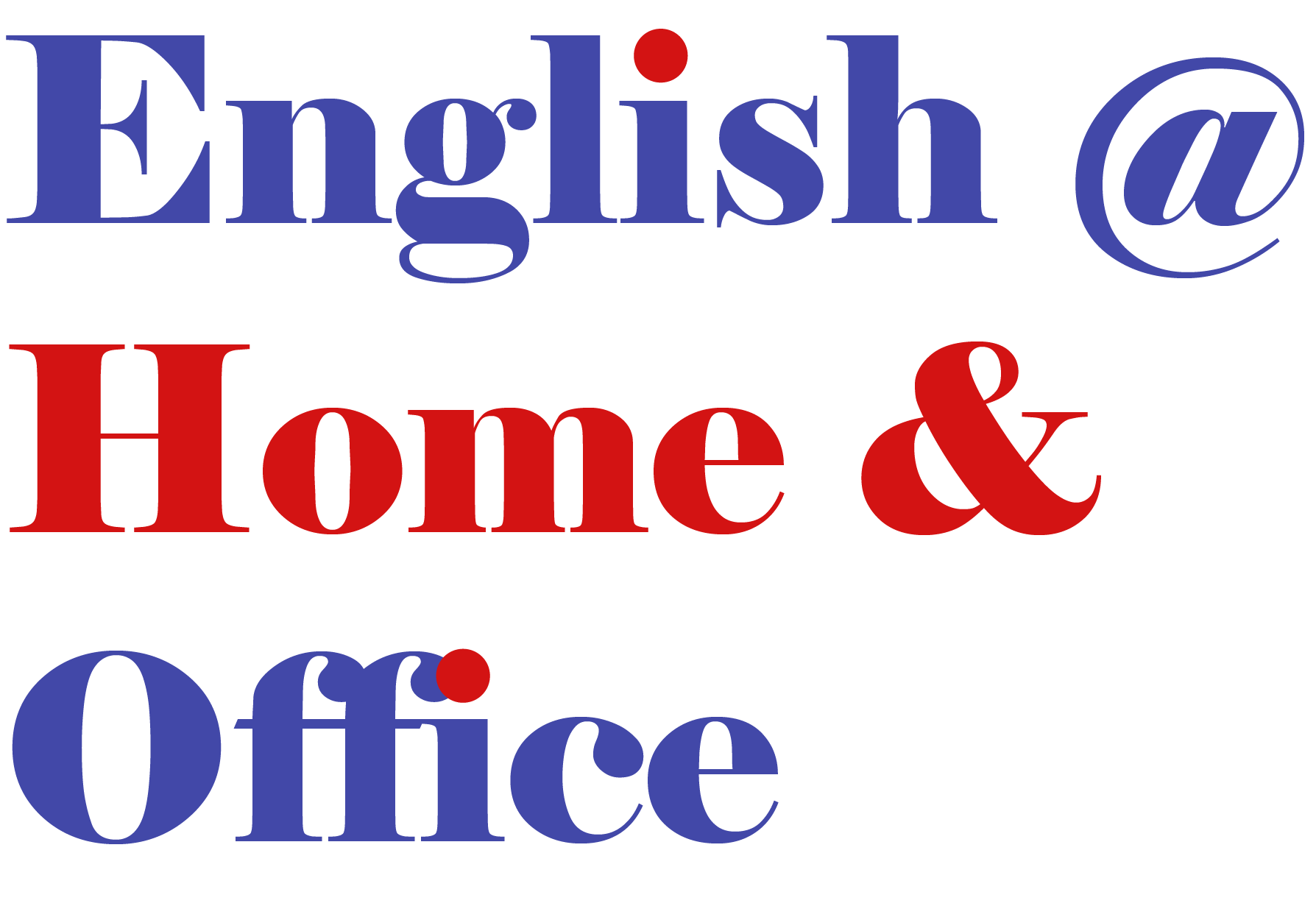 English in your home, office or anywhere!